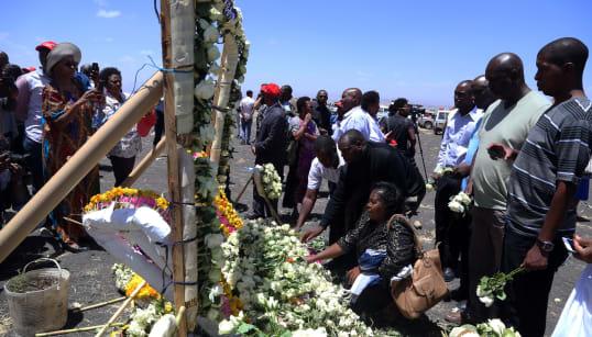 L'identification des victimes d'Ethiopia Airlines pourrait prendre six
