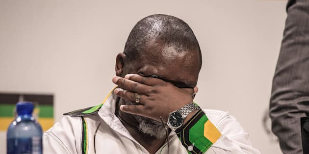 South African ruling party African National Congress (ANC) Secretary General Gwede Mantashe