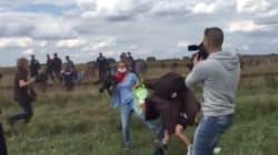 El Supremo de Hungría absuelve a la reportera que pateó a dos refugiados en