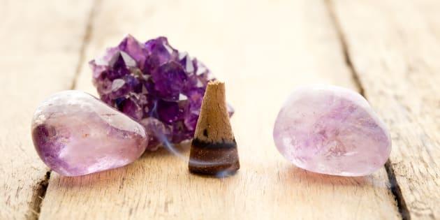 Combien de personnes dans votre cercle d'amis ont intégré les cristaux dans leur déco?
