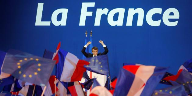 Emmanuel Macron.   REUTERS/Philippe Wojazer