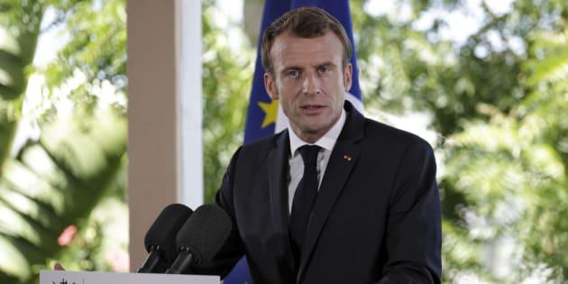 Emmanuel Macron pose un ultimatum aux bailleurs sociaux de Saint-Martin, un an après Irma