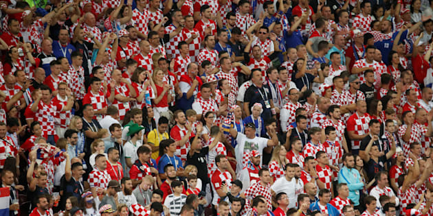 FOTOS: Los contrastes entre la euforia de los croatas y el desconsuelo inglés