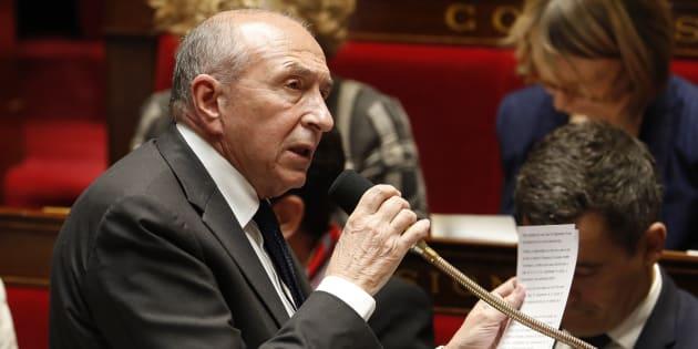 Gérard Collomb à l'Assemblée nationale.