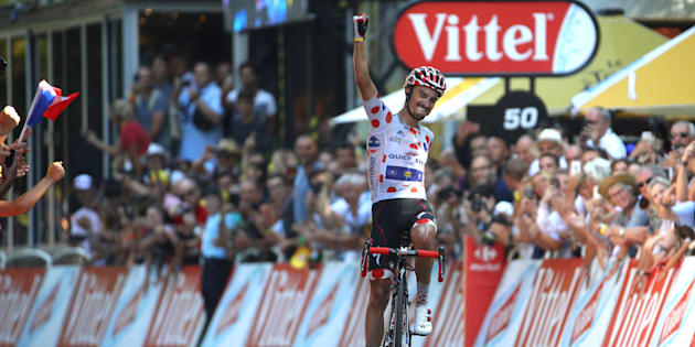Julian Alaphilippe remporte l'étape 16 du Tour de France à Bagnères-de-Luchon