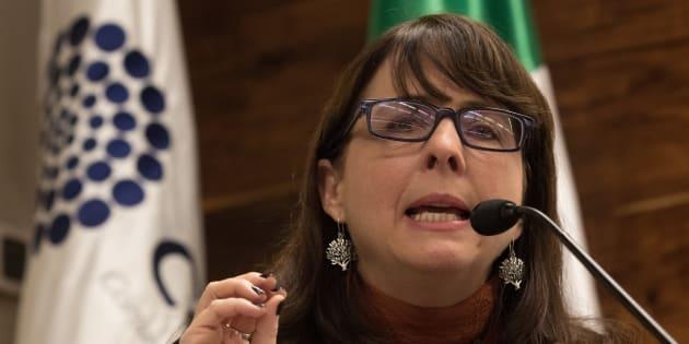 María Elena Álvarez-Buylla Roces, directora del Consejo Nacional de Ciencia y Tecnología (Conacyt), presentó su plan Nacional de Ciencia y TecnologÃía.