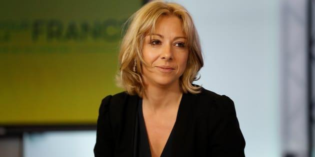 Florence Portelli le 10 mai au QG des Républicains à Paris.