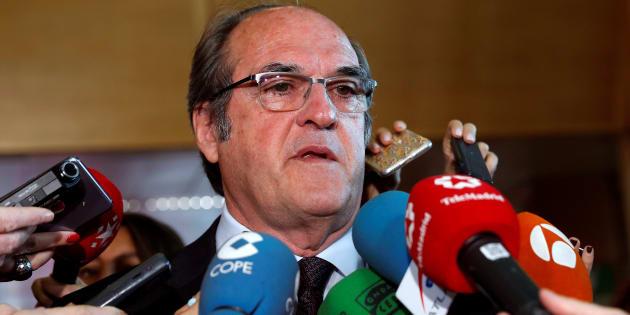 El portavoz del grupo parlamentario PSOE en la Asamblea de Madrid, Ángel Gabilondo.