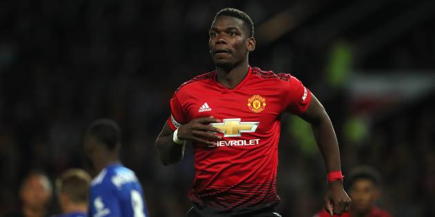 Manchester United-Leicester: Le champion du monde Paul Pogba n'a pas traîné pour la reprise de la Premier League.