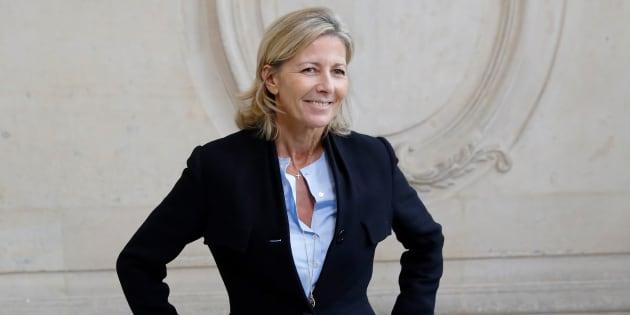 Claire Chazal le 30 septembre 2016 à Paris.