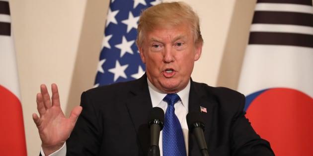 """Trump voit """"beaucoup de progrès"""" sur la Corée du Nord mais..."""