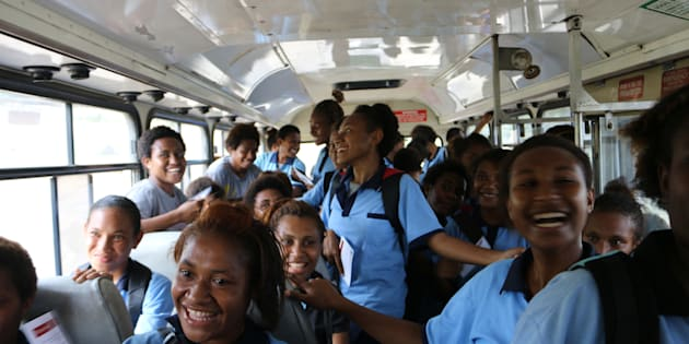 """""""More than 90 percent of women living in Port Moresby had experienced sexual or physical violence while on or waiting for public transport."""""""
