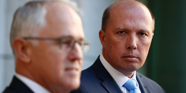Prime Minister Malcolm Turnbull and Immigration Minister Peter Dutton announce the 457 visa has been killed off.