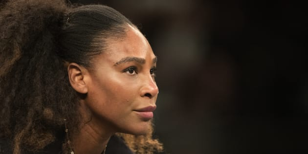 Serena Williams during the Tie Break Tens Tennis Tournament at Madison Square Garden on Monday in New York City.