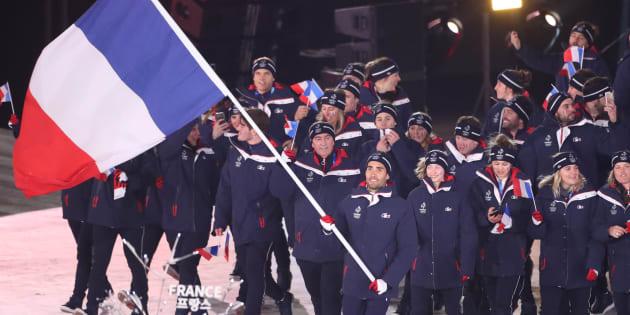 Gabriella Papadakis portera le drapeau français à la cérémonie de clôture des JO d'hiver 2018