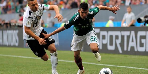 Allemagne-Mexique à la Coupe du Monde 2018: le résumé et le but en vidéo de Hirving Lozano (photo), qui a terrassé les champions du monde en titre
