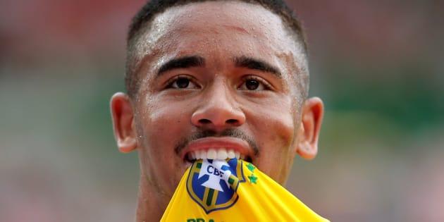 Gabriel Jesus é principal esperança de gols e, por isso, vestirá a camisa 9 do Brasil na Copa.