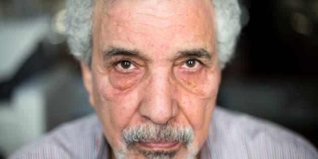 """Mustafa Khalifa, autor de 'El Caparazón: Diario de un mirón en las cárceles de Al-Asad', descrito como uno de los """"evangelios"""" de la Primavera Árabe."""
