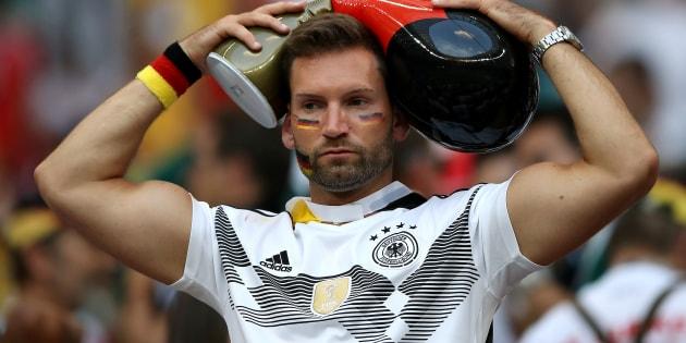 Torcida da Alemanha está apreensiva com situação da atual campeã mundial na Copa.