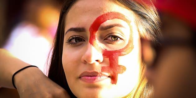 Protesto em Campinas (SP) após chacina de mulheres no Ano Novo.