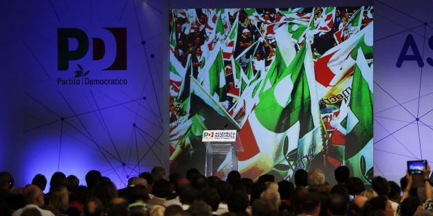 Italian politician Maurizio Martina speaks at Partito Democratico (PD) National Assembly. Rome, May 19th 2018 (Photo by Massimo Di Vita/Archivio Massimo Di Vita/Mondadori Portfolio via Getty Images)