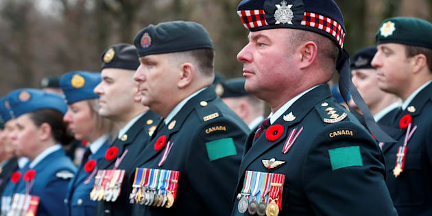 Le personnel militaire canadien déployé en Lettonie en mission pour l'OTAN ont participé à une commémoration du jour du Souvenir, le 11 novembre dernier.