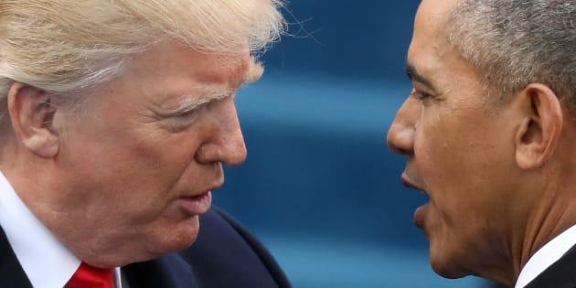 Pour Donald Trump, les manifestations contre lui sont orchestrées par Barack Obama