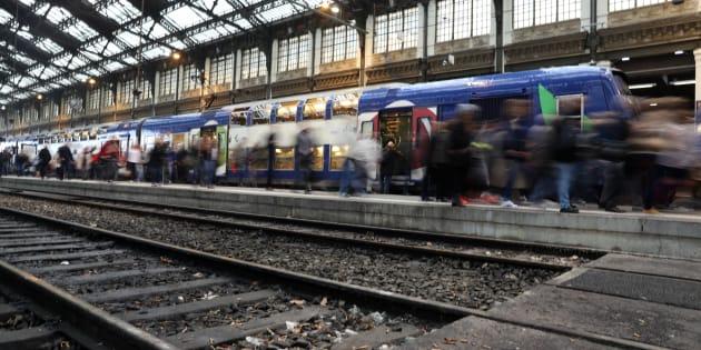 La gare de Lyon de Paris, ici photographiée le 1er juin 2016, arrêtera de fonctionner tout le week-end.