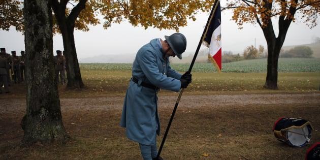 Les propos d'Emmanuel Macron sur Philippe Pétain, à l'occasion des célébrations du Centenaire de la Grande Guerre, ici à Morhange le 5 novembre dernier, ont ému certains historiens en charge du centenaire.