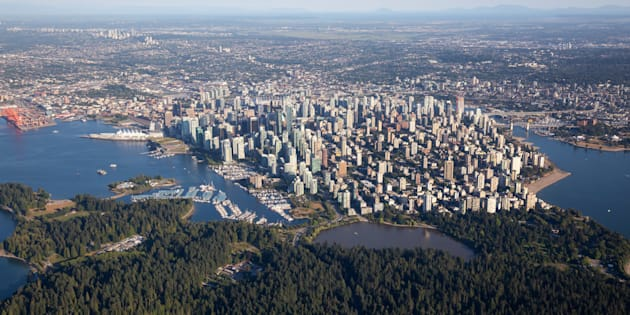 An aerial view of Vancouver's downtown and West End, with Stanley Park in the foreground. Vancouver home sales recorded their lowest levels in a decade in November, amid some analysts' warnings that the market could be headed for something worse than a mild correction.