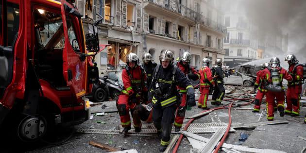 Forte esplosione in una panetteria del centro di Parigi |  20 feriti |  2 gravi