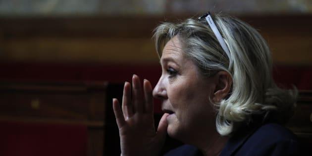 Marine Le Pen n'a plus de salle pour faire son meeting des européennes