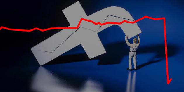 Facebook s'effondre en bourse et perd 100 milliards, plus que la valeur d'Airbus