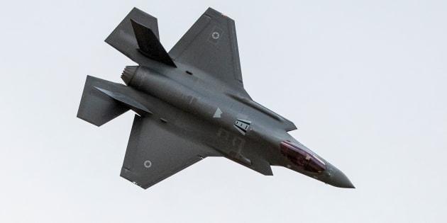 """Israele bombarda con i """"super caccia"""" F 35: """""""