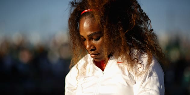 Photo d'archives de Serena Williams.