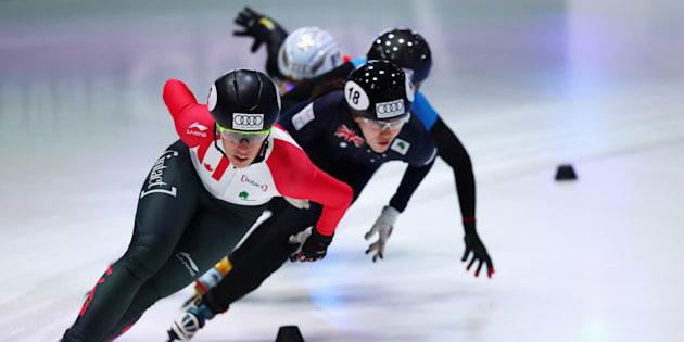Marianne St-Gelais représentera le Canada en patinage de vitesse courte piste.