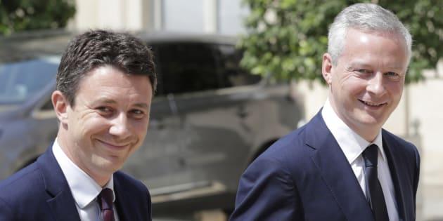 Quel rôle jouera Benjamin Griveaux auprès de Bruno Le Maire? Bercy répond au HuffPost
