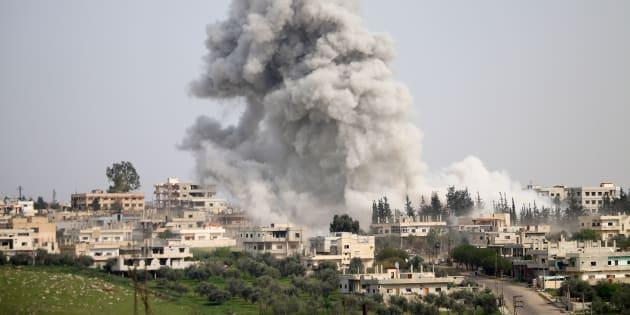 Guerra na Síria começou em 2011.