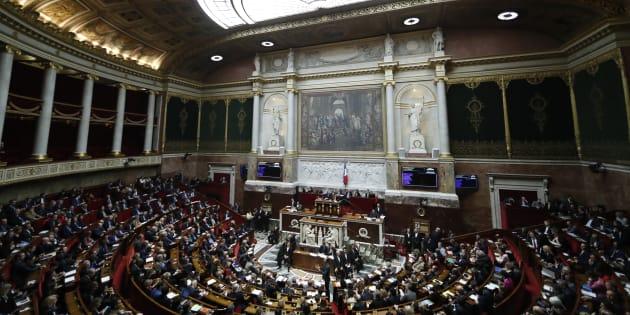 L'Assemblée nationale lors des questions au gouvernement le 4 décembre.