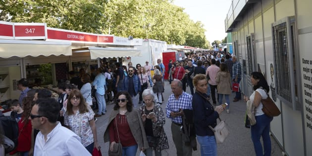 La Feria del Libro de Madrid 2018.