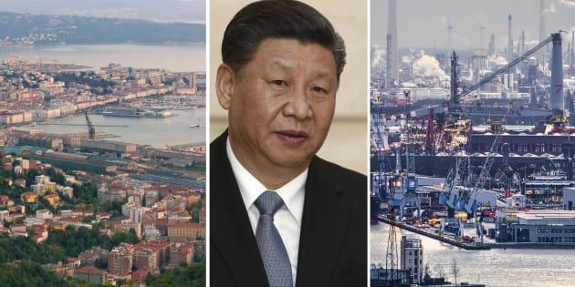 Dietro le schermaglie sulla Cina |  la guerra dei porti fra Italia e Nord Europa