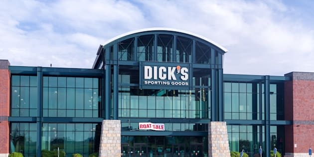 Dick's Sporting Goods exterior. Dick's Sporting Goods, Inc. is a Fortune 500 American corporation in the sporting goods and retail industries.