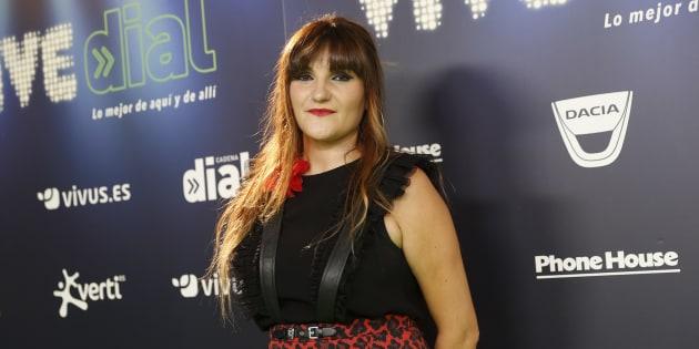 Rozalen en festival Vive Dial en Madrid.