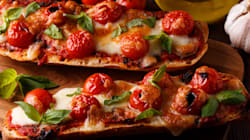 The Easiest, Tastiest Pizza Baguette