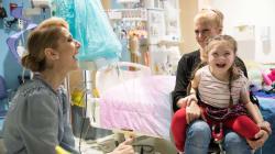Céline Dion distribue des sourires aux enfants malades et à leurs