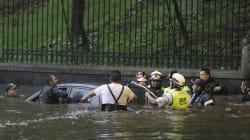 Cascadas, ríos rápidos y encharcamientos: los estragos de la tormenta en CDMX y Edomex 📷