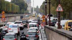 La pluie et la neige ont contribué à faire battre un record d'embouteillage en