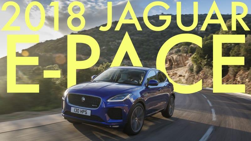 2018 Jaguar E-Pace Video Review