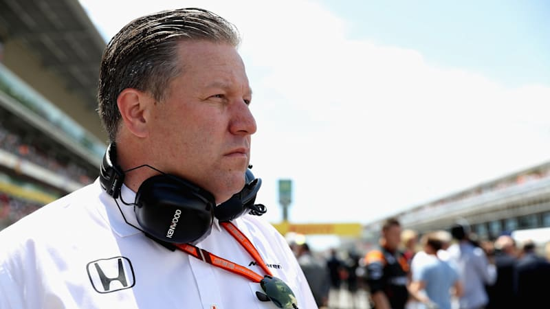 mclaren-executive-director-zak-brown-on-the-grid-during-the-spanish-picture-id683015810