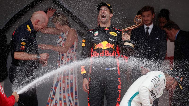Daniel Ricciardo takes Monaco win despite engine problems